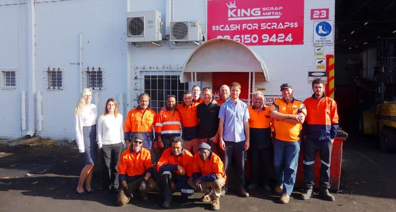 King Scrap Metals Team